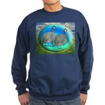 Guineas On Opal Sweatshirt (dark)