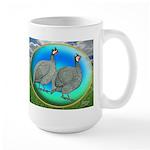 Guineas On Opal Large Mug