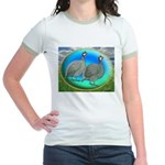 Guineas On Opal Jr. Ringer T-Shirt