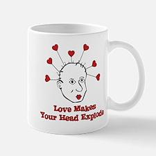 Exploding Love Head Mug