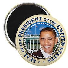 President Obama inauguration Magnet