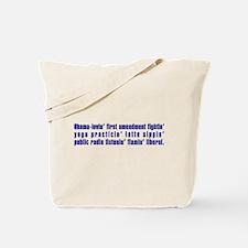Flaming Liberal - Tote Bag