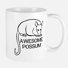 Awesome Possum Small Small Mug