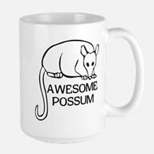 Awesome Possum Large Mug