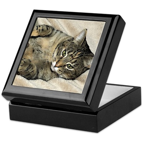 purr machine Keepsake Box