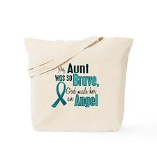 Angel 1 TEAL (Aunt) Tote Bag