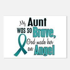 Angel 1 TEAL (Aunt) Postcards (Package of 8)