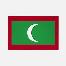 Maldives Rectangle Magnet