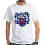 Van Der Hoeven Coat of Arms White T-Shirt