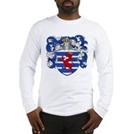 Van Der Hoeven Coat of Arms Long Sleeve T-Shirt