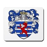 Van Der Hoeven Coat of Arms Mousepad