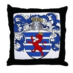 Van Der Hoeven Coat of Arms Throw Pillow