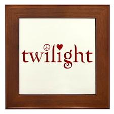 Twilight Time Framed Tile