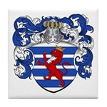 Van Der Hoeven Coat of Arms Tile Coaster