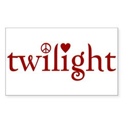 Twilight Time Rectangle Decal