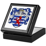 Van Der Hoeven Coat of Arms Keepsake Box