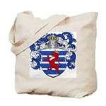 Van Der Hoeven Coat of Arms Tote Bag