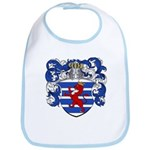 Van Der Hoeven Coat of Arms Bib