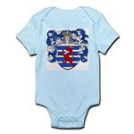 Van Der Hoeven Coat of Arms Infant Creeper