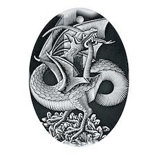 Unique Miro Oval Ornament