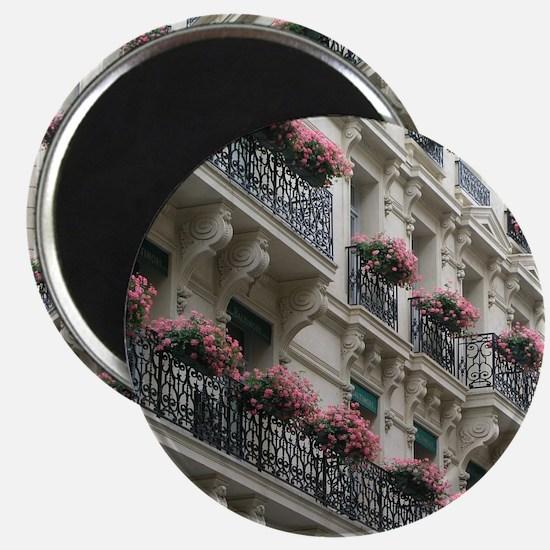 """Paris Flowers 2.25"""" Magnet (10 pack)"""