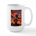 Conscious Rasta Lion Large Mug