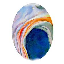 Miro Oval Ornament