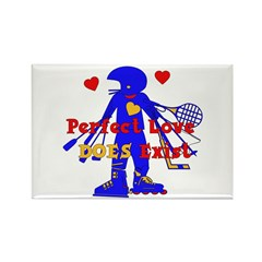 Perfect Love Rectangle Magnet