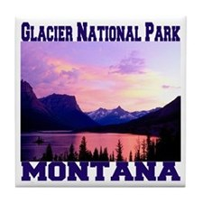 Glacier National Park Tile Coaster