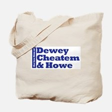 DEWEY CHEATEM AND HOWE Tote Bag