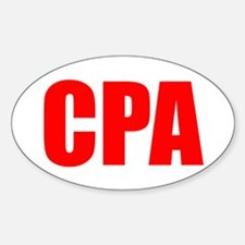 CPA 2 Oval Decal