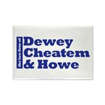 DEWEY CHEATEM AND HOWE Rectangle Magnet (10 pack)