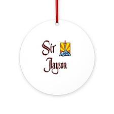 Sir Jayson Ornament (Round)
