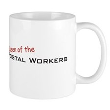 Postal Workers / Queen Small Mug