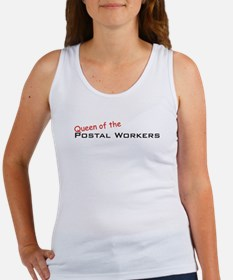 Postal Workers / Queen Women's Tank Top