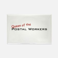Postal Workers / Queen Rectangle Magnet