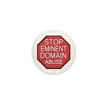 Stop Eminent Domain Abuse Mini Button
