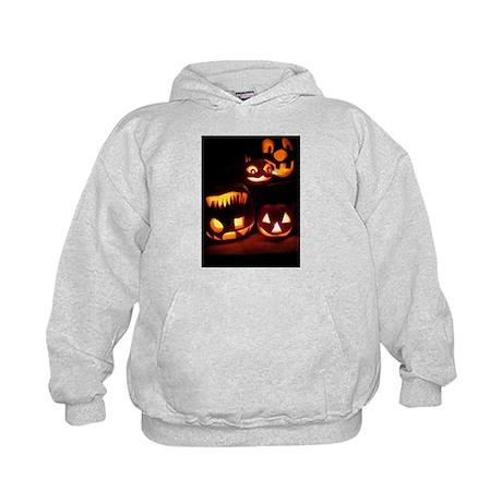 Halloween Pumpkins Kids Hoodie