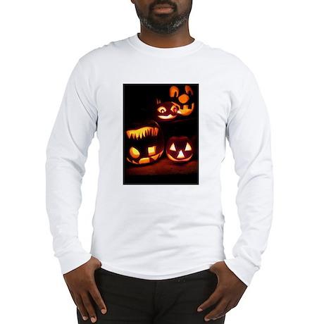 Halloween Pumpkins Long Sleeve T-Shirt