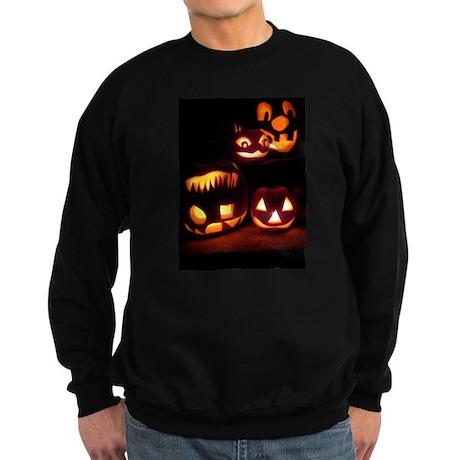 Halloween Pumpkins Sweatshirt (dark)