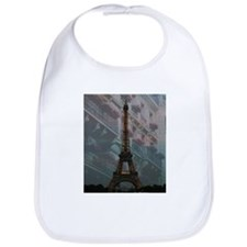 Eiffel Tower at Night Bib