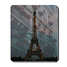 Eiffel Tower at Night Mousepad