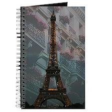 Eiffel Tower at Night Journal