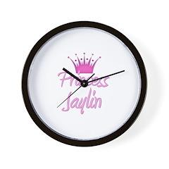 Princess Jaylin Wall Clock