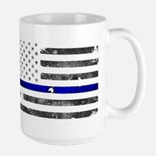 Thin Blue Line - Blue Lives Matter Mugs