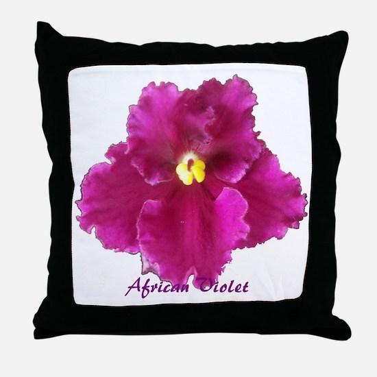 Beautiful Red AV w/ Logo Throw Pillow