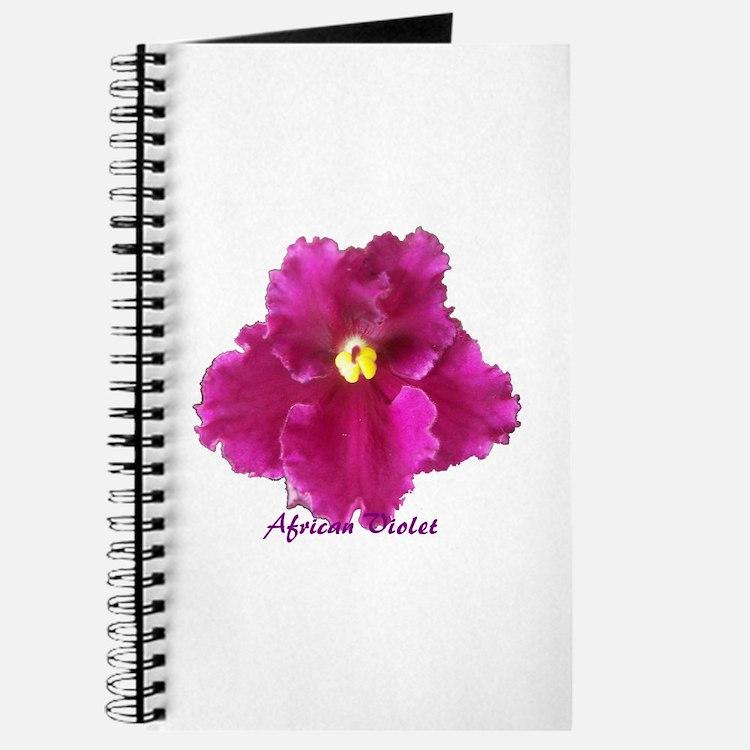 Beautiful Red AV w/ Logo Journal