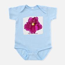 Beautiful Red AV w/ Logo Infant Creeper