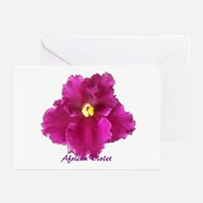 Beautiful Red AV w/ Logo Greeting Cards (Package o