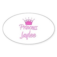 Princess Jaylee Oval Decal